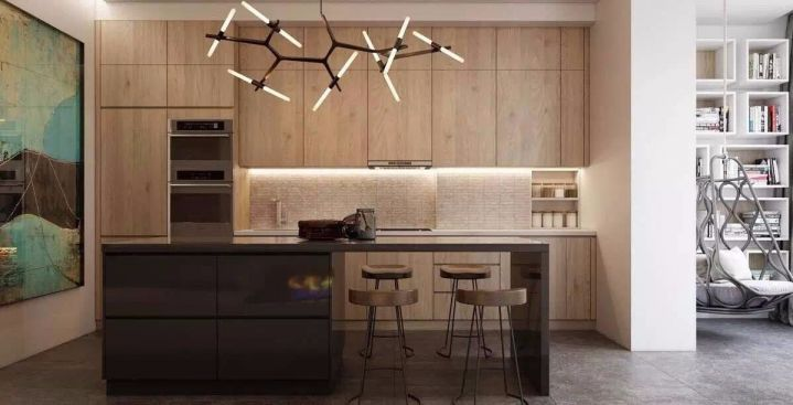 厨房餐桌美式风格装饰图片