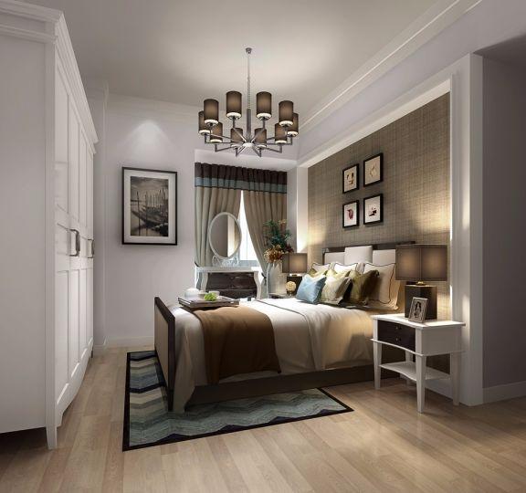 卧室衣柜混搭风格装修图片