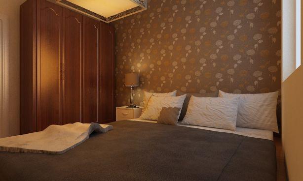卧室床头柜简约风格装潢图片