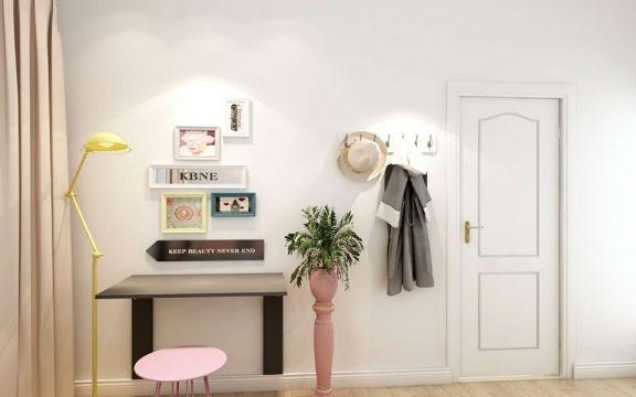 客厅白色细节现代风格装修图片