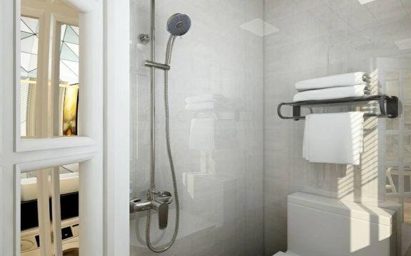 卫生间灰色窗台现代风格效果图