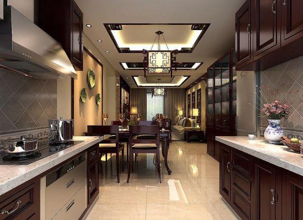 厨房中式风格装饰图片