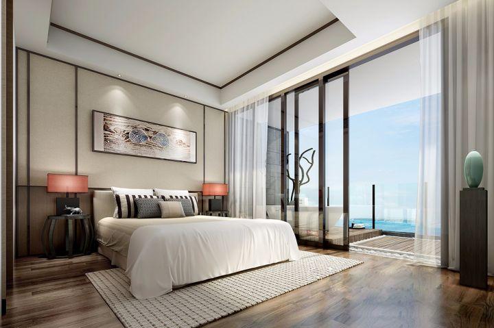 日式风格120平米两室两厅新房装修效果图