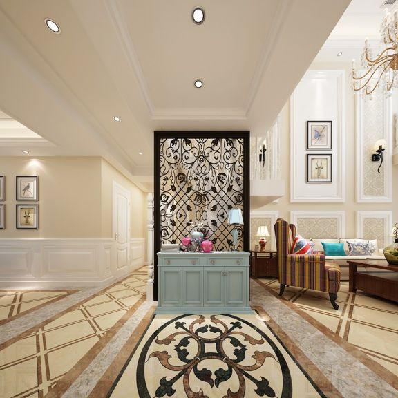 玄关隔断欧式风格装潢设计图片