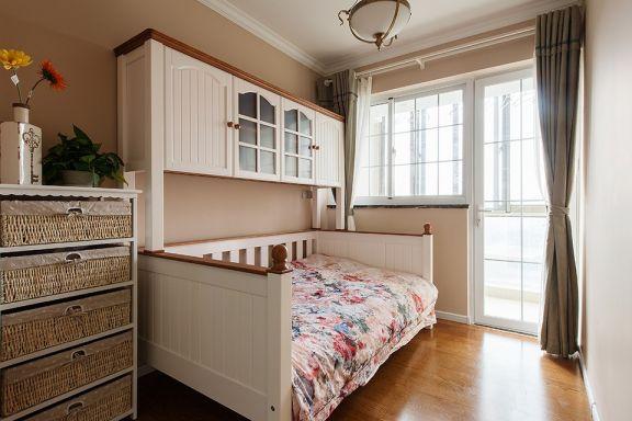 卧室地板砖美式风格装潢设计图片