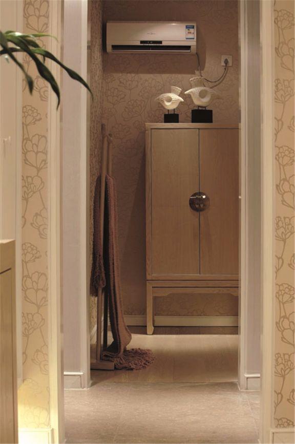 卧室衣柜新中式风格装修设计图片