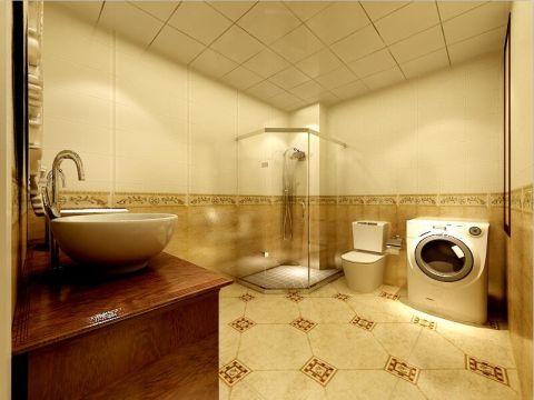 卫生间地砖欧式风格装饰设计图片