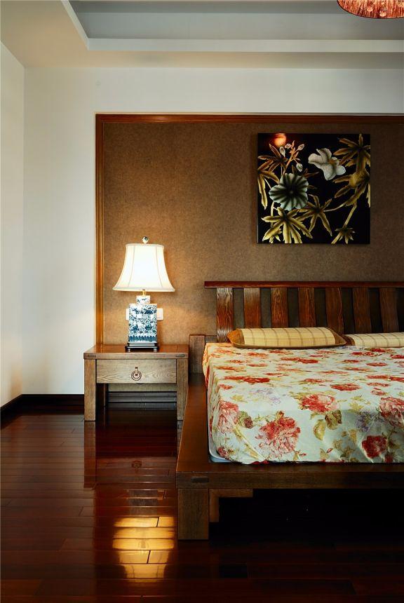 卧室床头柜新中式风格装饰效果图
