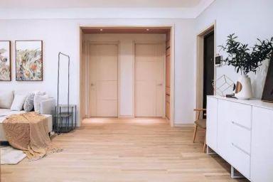客厅白色走廊现代风格装潢图片
