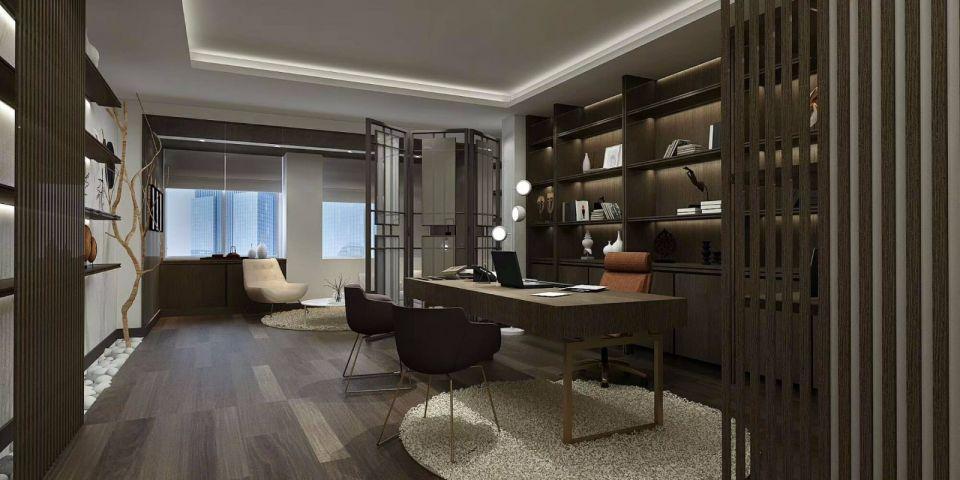 人信汇360平米小而美现代风格办公室装修效果图