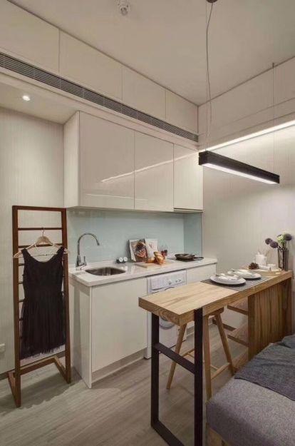 日式风格96平米两室两厅新房装修效果图