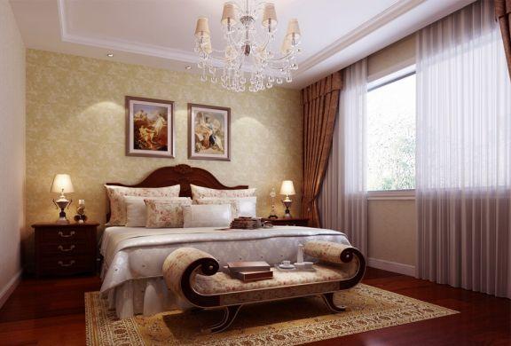 简欧风格180平米三室两厅新房装修效果图