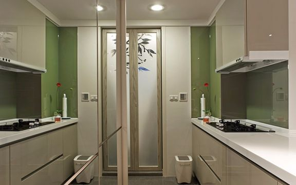 80平现代简约3居室1卫装修效果图