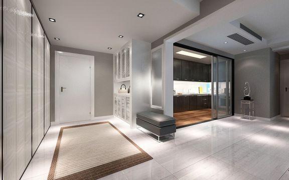 180平米后现代风格二居室升龙广场装修效果图
