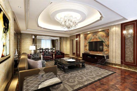 2021古典240平米装修图片 2021古典四居室装修图