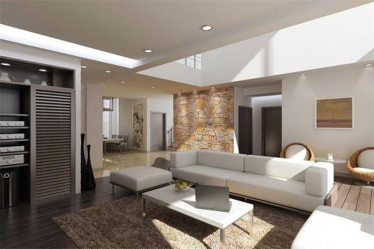 简约风格200平米四室两厅新房装修效果图