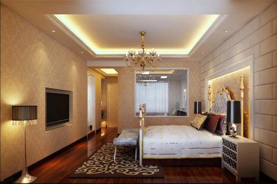 古典风格350平米别墅新房装修效果图