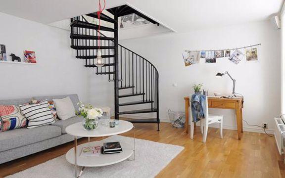 90平三室一厅北欧风格装修效果图