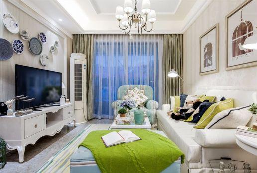 14万预算90平米三室两厅装修效果图