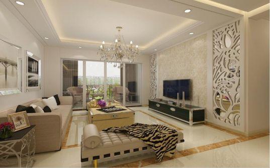 30万预算100平米三室两厅装修效果图