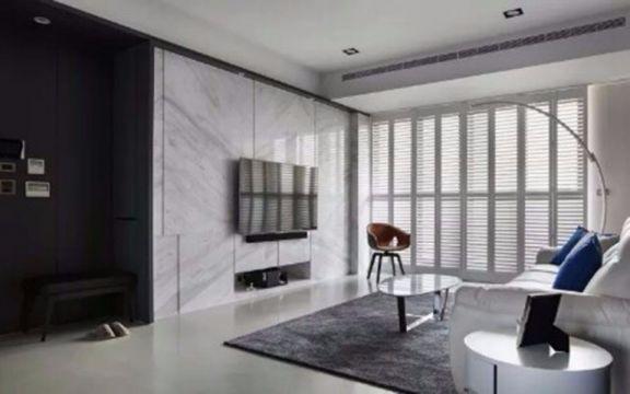 68平两室一厅简约风装修效果图