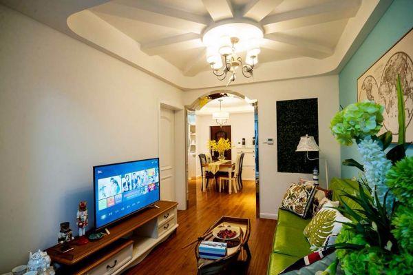 12万预算80平米两室两厅装修效果图