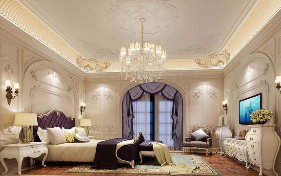卧室榻榻米欧式风格装修设计图片
