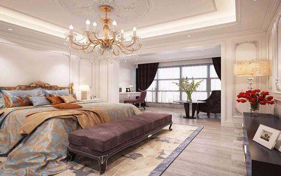 卧室电视柜欧式风格装潢设计图片