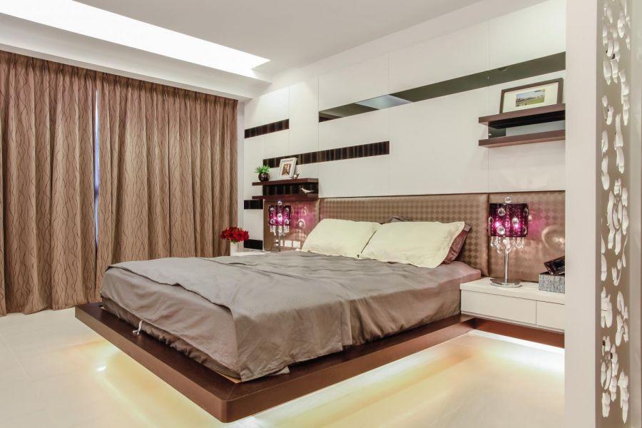 卧室床经典风格装修图片