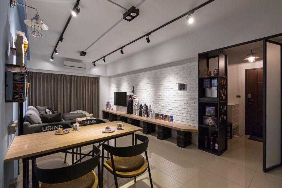 客厅电视柜现代欧式风格装修设计图片