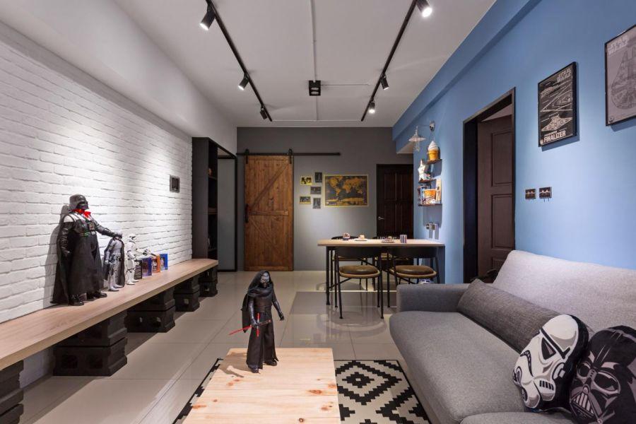 客厅沙发现代欧式风格装饰设计图片