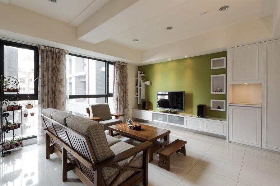 140平三房两厅简约装修效果图