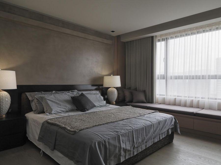 卧室床古典风格装修图片