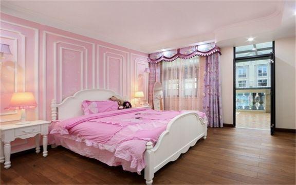 卧室地砖美式风格装潢设计图片