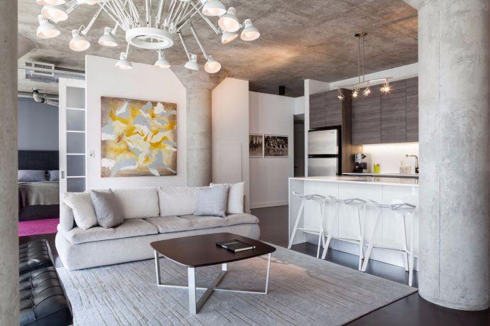 力高共和城96平米现代简约三居室装修效果图