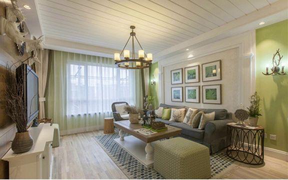 19万预算128平米三室两厅装修效果图
