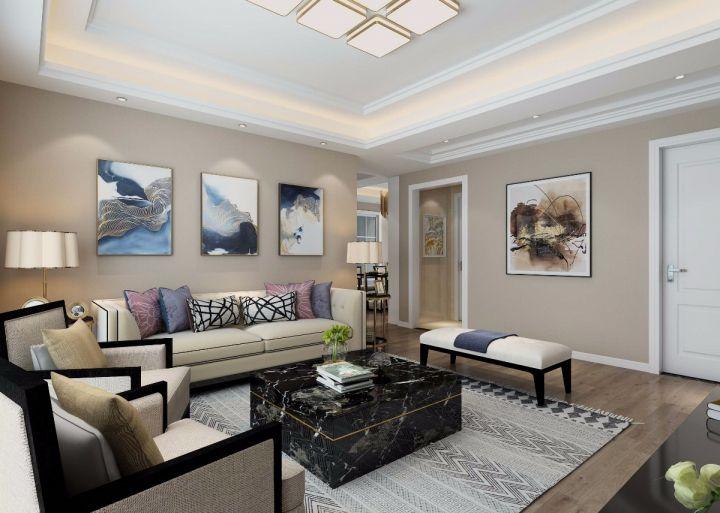 15万预算100平米三室两厅装修效果图