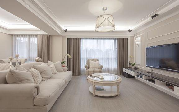 法式风格220平米复式新房装修效果图
