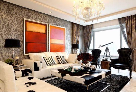 170平米四居室现代风格装修效果图