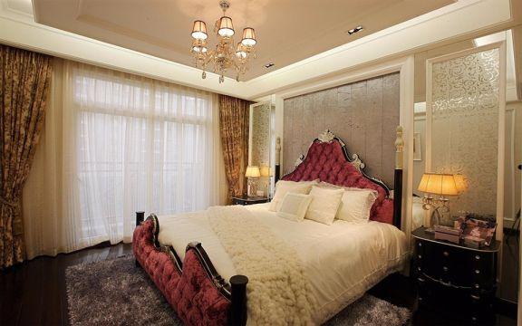 云锦城四居室160平米欧式装修效果图
