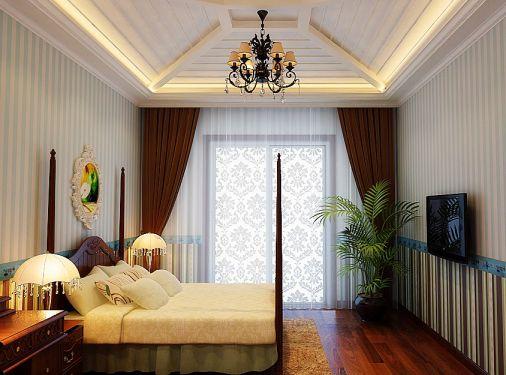 欧式风格260平米别墅新房装修效果图