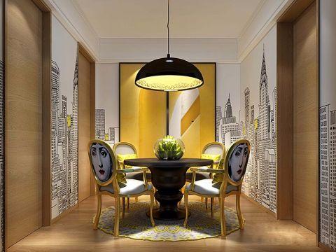 96平米现代简约一居室装修效果图