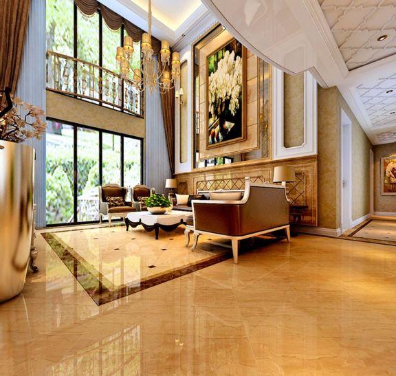 298平米五居室简欧风格装修效果图