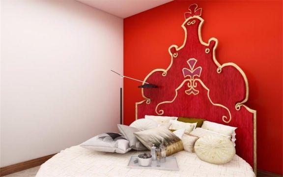 国雅城80平米现代风格两居室装修效果图