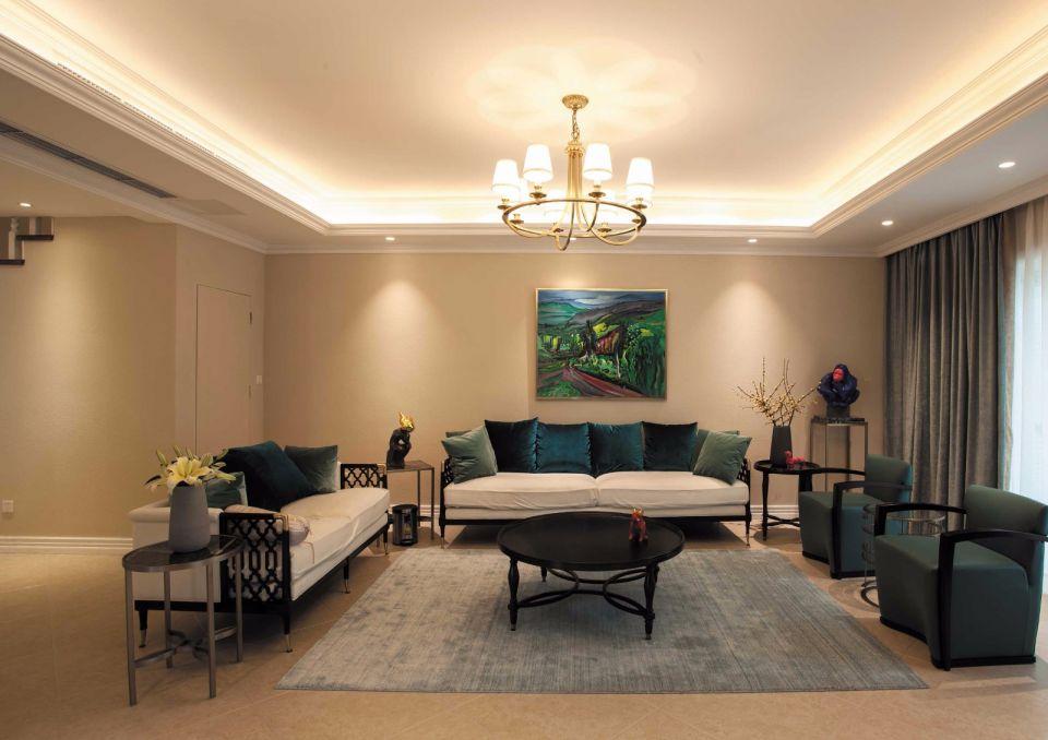 欧式风格175平米三居室装修效果图