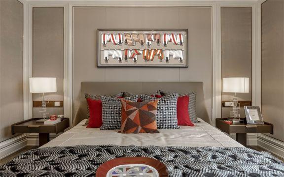 2019经典卧室装修设计图片 2019经典床装修效果图片