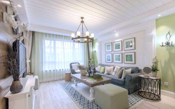 17万预算130平米三室两厅装修效果图
