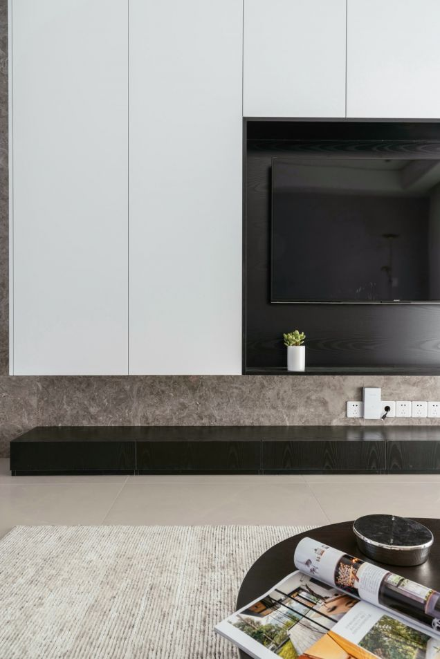 2018新中式110平米装修设计 2018新中式设计图片