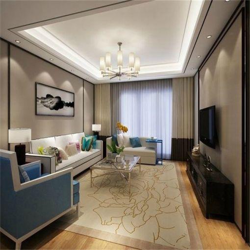 148平米中式风格三居室装修效果图
