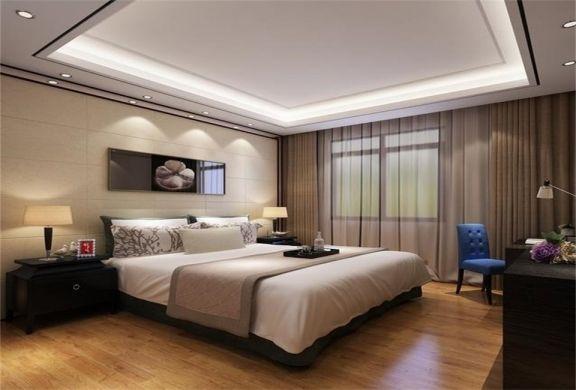中式风格148平米三室两厅新房装修效果图